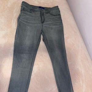 APT. 9 Grey skinny jeans size 14
